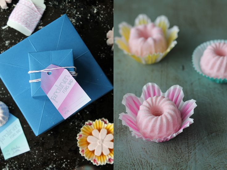 DIY Bath Bombs or  Bath Fizzies | Homemade gift idea | DIY christmas presents | Badebomben selbermachen