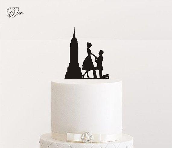Empire State Building Cake Topper