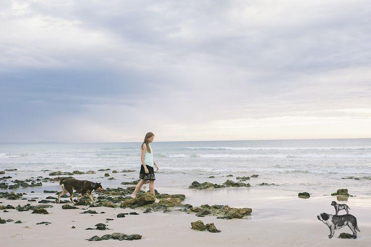 Ella and Pip captured by BB in Moana - 2014  ©Bitsa Bernard Photography: Adelaide family Photographer