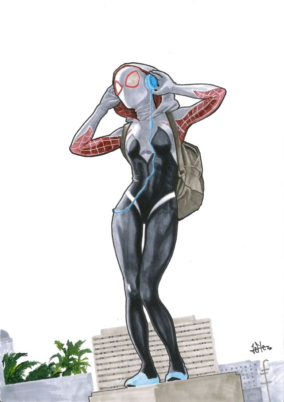 Spider Gwen by Jefter                                                                                                                                                                                 More
