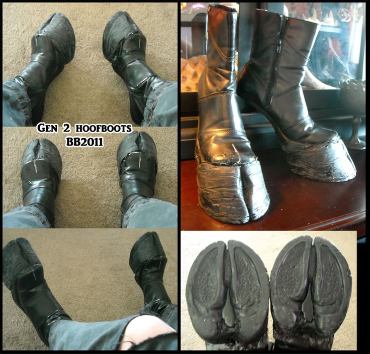 I want to have another go at making hoof boots. but for what? faun/satyr costume?