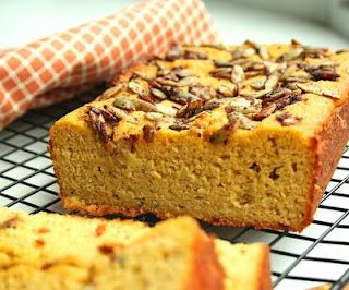 bread with cinnamon pepitas low carb and gluten free pumpkin pumpkin ...
