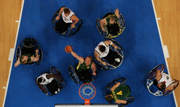 Australia's men's Wheelchair Basketball team