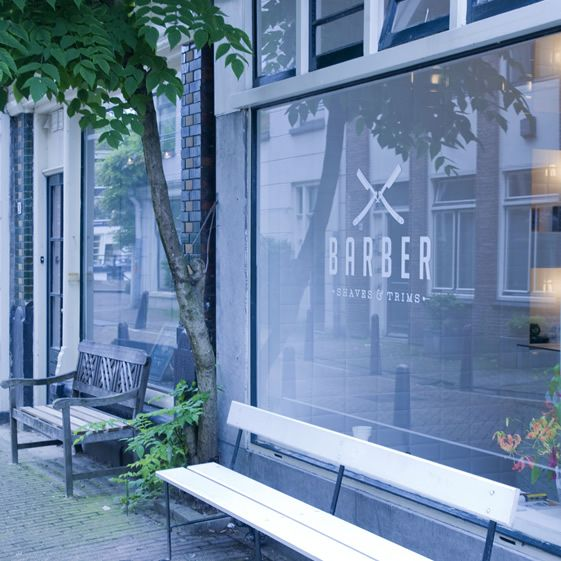 Bluntly called Barber (or should that be sharply?), this salon in Amsterdam has gone back in time to the days when a gentleman was far more likely to visit his local barber for a facial trim rather than a short back and sides...