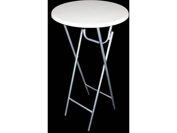 Stehtisch Bartisch Bistrotisch Weisse Tischplatte Metallgestell