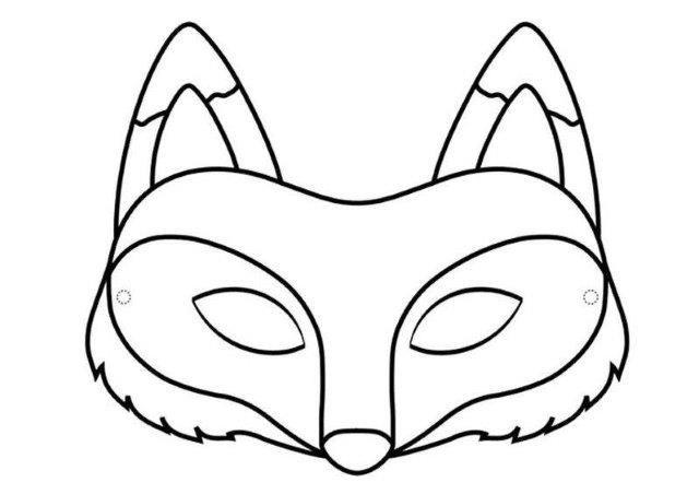 Pin De Gime Silva En Patrones Tipi En 2020 Mascara De Zorro