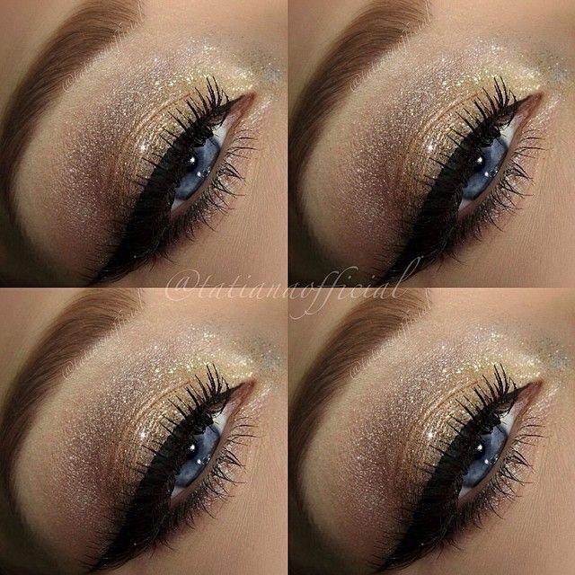 Žiarivé líčenie pre modré oči