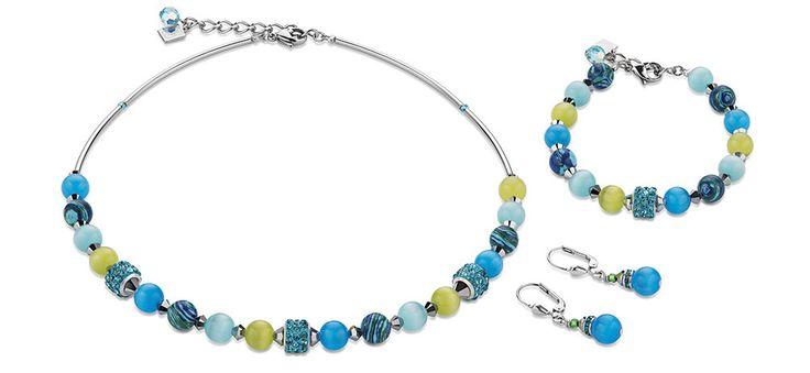 Swarovski Agate Blue Green Set4816_0605 – Coeur de Lion jewellery