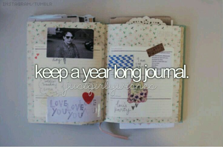 I have always started a journal and never continued. Always been a couple pages. I would like to keep writing and make it last for a year.