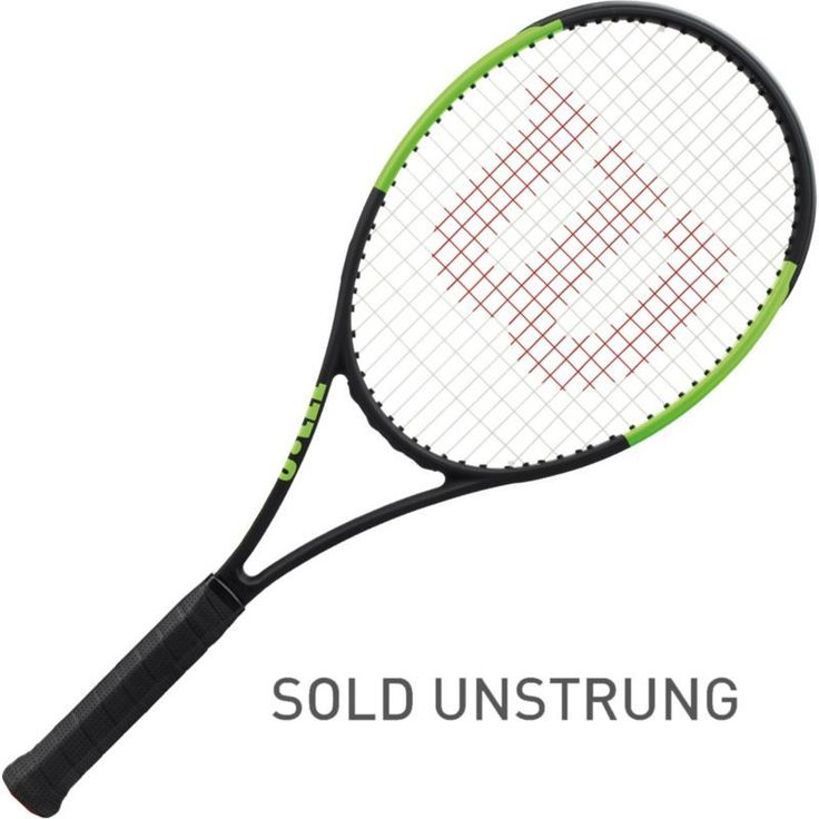 Wilson Blade 98 (18 x 20) Countervail Pro Tennis Racquet, Black