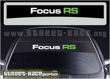 Ford Focus RS sunstrip