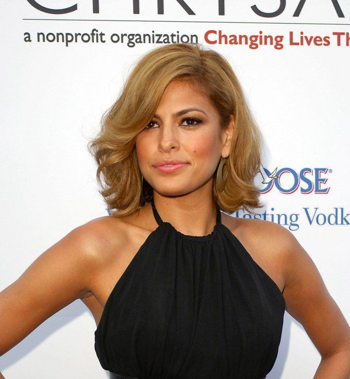 eva mendes chatain clair cuivre - Coloration Chatain Cuivr