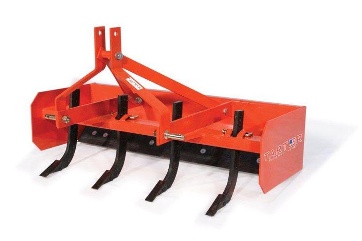 Tarter 4′ Sub-Compact Box Blade – ORANGE – BBSC4