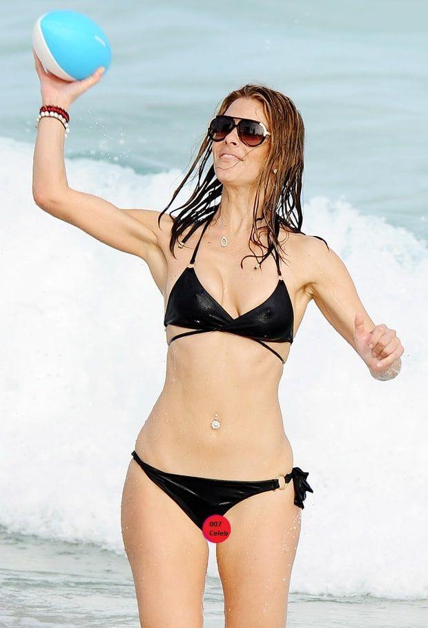 Maria Menounos Bikini Malfunction Crotch Shot  Maria -2783