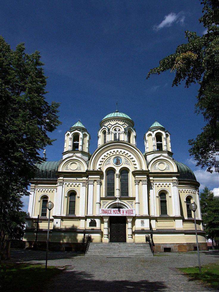 Kościół św. Jakuba Apostoła dawna cerkiew św. Cyryla i Metodego z 1872 roku