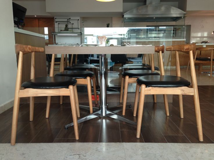 Sillas Elbow para Área de Restaurante en Hotel Radisson en Leon Guanajuato. #TuEspacioLASDDI visita nuestra tienda online www.lasddi.com