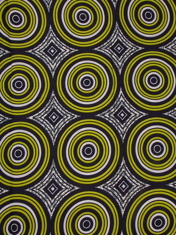 Tribal Print Super Deluxe Wax African Fabric Circle Design For Church sw14100407
