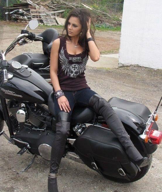 Biker babes chick