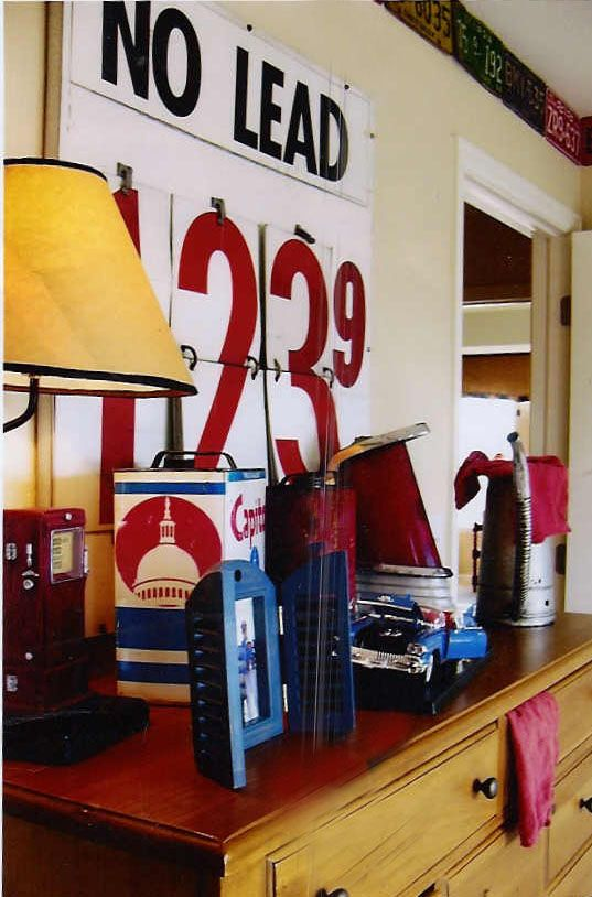 Vintage car/truck room/nursery inspiration (gas price could be birth day or time of birth)