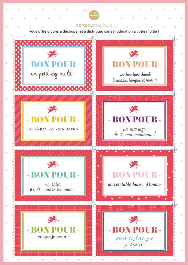 Free printable saint valentin   Berceau Magique