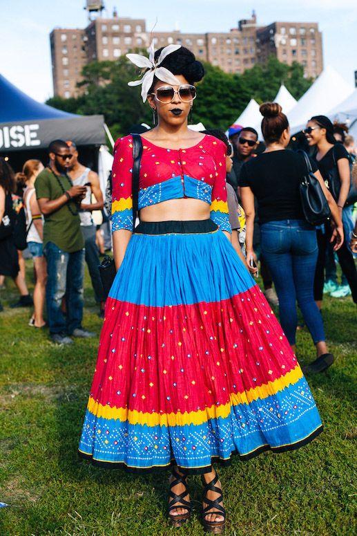 Afropunk Street Style Fest - Best Brooklyn Fashion | NYLON