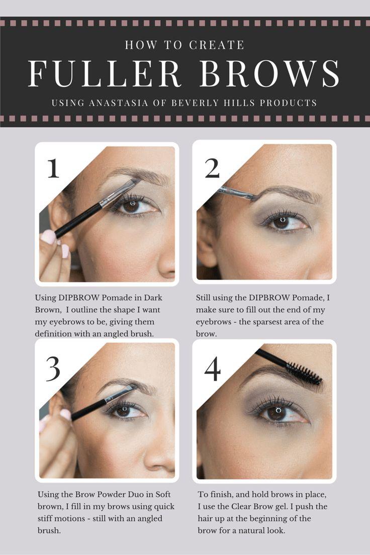 Eyebrow Tutorial: 1000+ Ideas About Eyebrow Tutorial On Pinterest