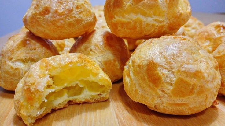 ГУЖЕРЫ |  Заварные Булочки с Сыром | Съедаются в миг! Gougеres