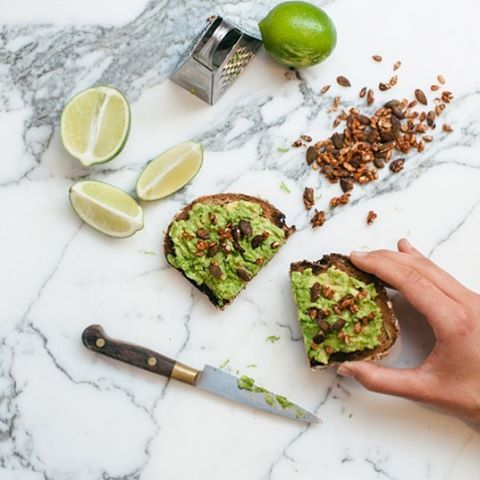 Chilli smoke and a squeeze of lime makes avocado on toast that much better.