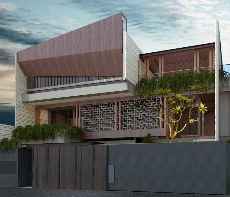 Image result for desain pagar rumah modern | Arsitektur ...