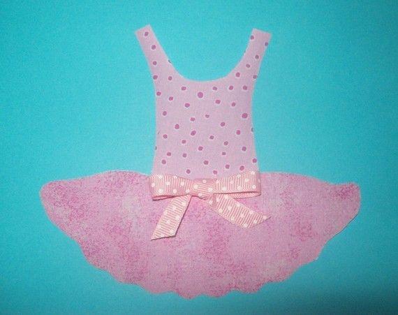 Stoffen sjabloon alleen Ballerina Tutu dans jurk