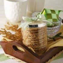 kue kering krispy kelapa keju