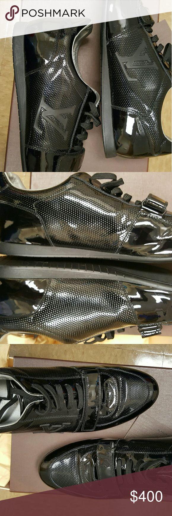 Authentic Louis Vuitton Men's Shoes Authentic Men's shoes only worn twice. Comes with original box and shoe bags. Louis Vuitton Shoes Loafers & Slip-Ons