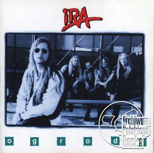 Okładka albumu zespołu IRA Ogrody