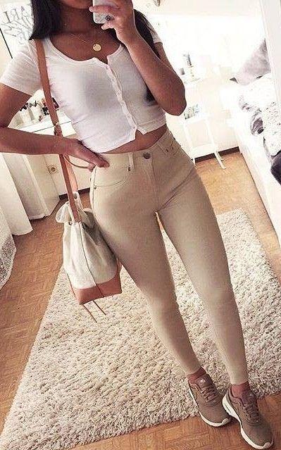 #summer #showpo #label #outfits | White + Beige