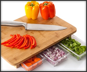 Mocubo Cutting Board. What an awesome idea.