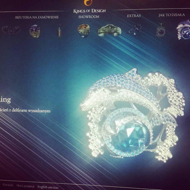 Kilka rzeczy jeszcze wymaga dopracowania, ale pochwalić się już można ;-) www.kingsofdesign.pl A couple of things needs to be developed, but we can show it anyway ;-) www.kingsofdesign.pl #website #modx #www #razdwaprojekt #strona #kingsofdesign #rwd #jewellery