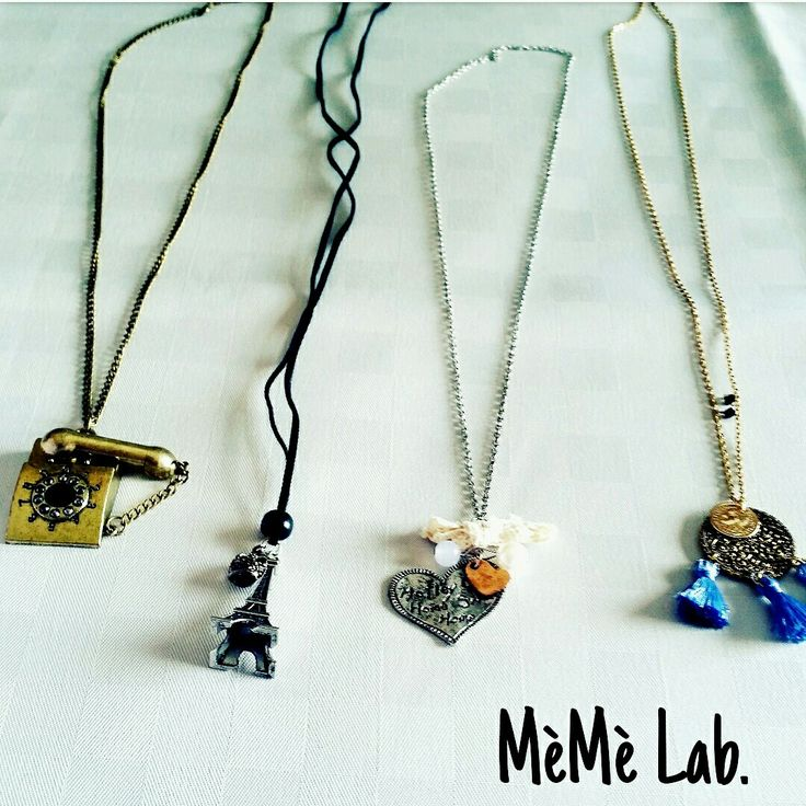 Collane MèMè Lab.  www.memelabaccessori.com