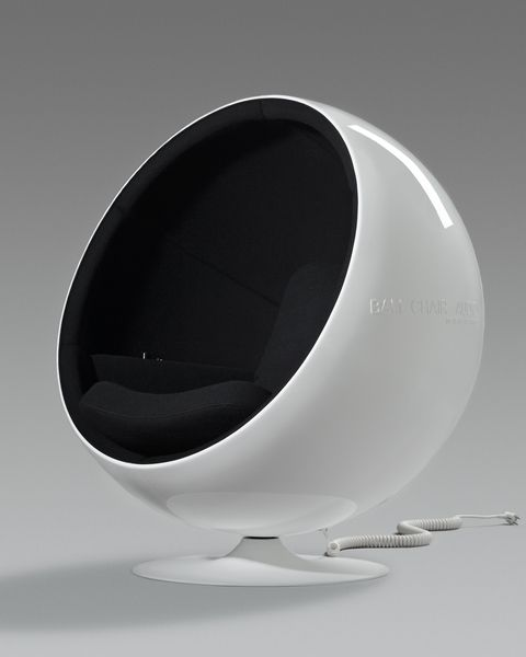 Ball Chair Audio design by Eero Aarnio.