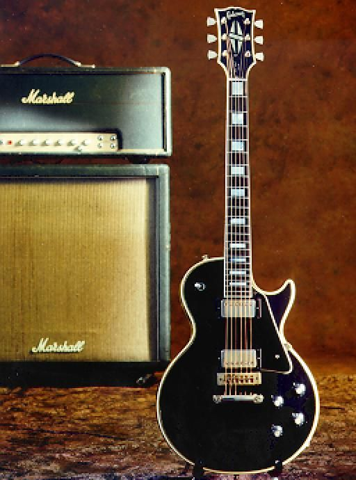 gibson les paul and a marshall ooh yeah