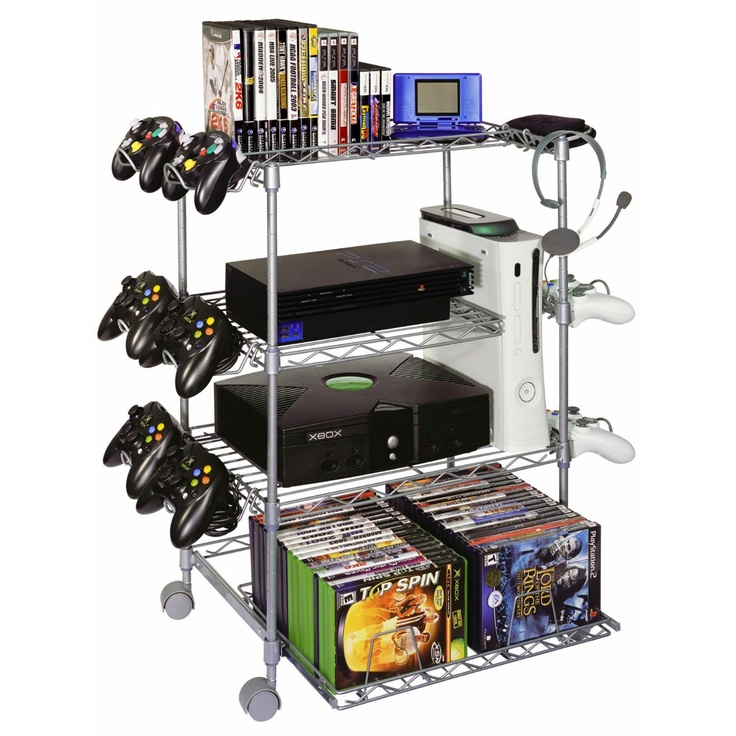 Gamekeeper Wire 4Tier Tower for Gaming Gear Silver