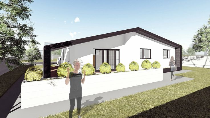 Proiect casa AMBRA. Parter   93 mp   2 camere. Mai multe detalii gasiti aici: http://www.uberhause.ro/proiect-casa-parter-93-metri-patrati-ambra