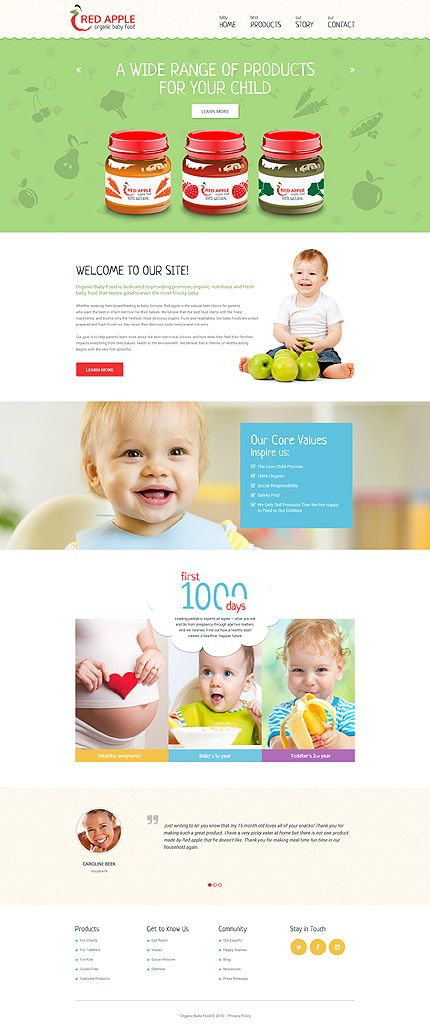 Family website inspirations at your coffee break? Browse for more Responsive JavaScript Animated #templates! // Regular price: $69 // Sources available: .HTML,  .PSD #Family #Responsive JavaScript Animated