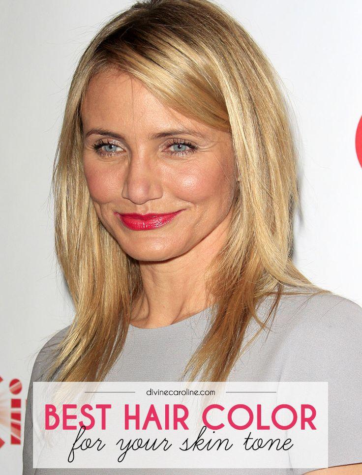 The Best Hair Colors for Your Skin Tone  Fashion for Mature Women  Mejor color de cabello