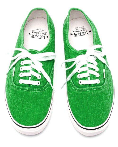 vans verde