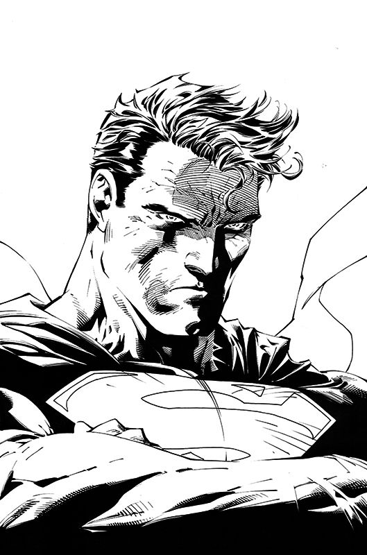 Superman by Jim Lee & Scott Williams