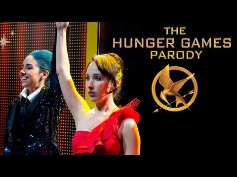 The Hunger Games Parody by The Hillywood Show® I LOVE THIS YOUTUBE CHANNEL! THIS PARODY IS AWESOME!