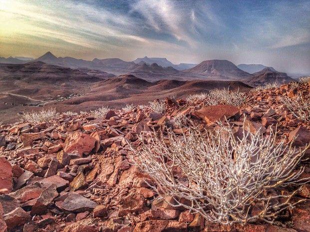 Damaraland landscape #Namibia #walkingtrail