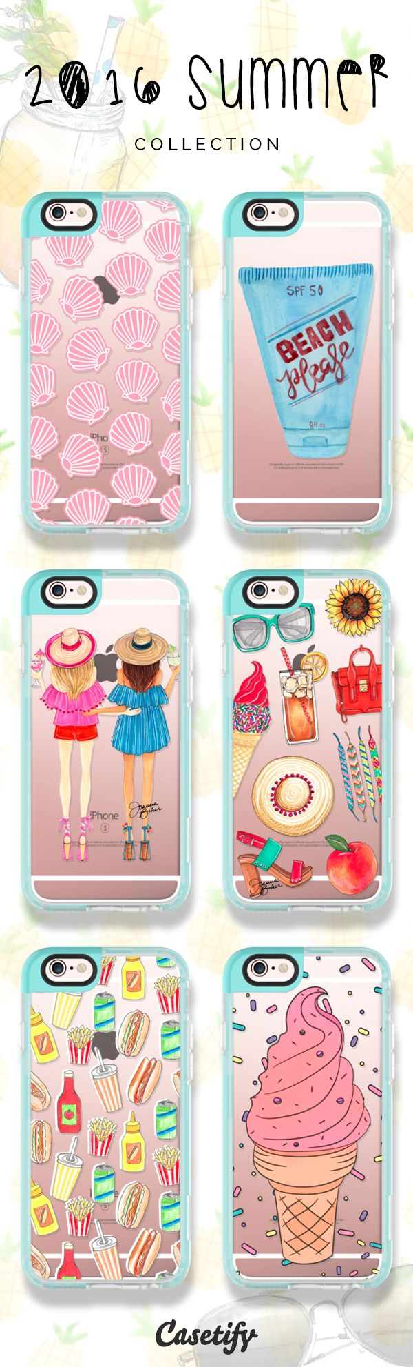 Every #summer has its own story. Click through to check out our latest 2016 Summer Collection >>> https://www.casetify.com/collections/summer | @casetify