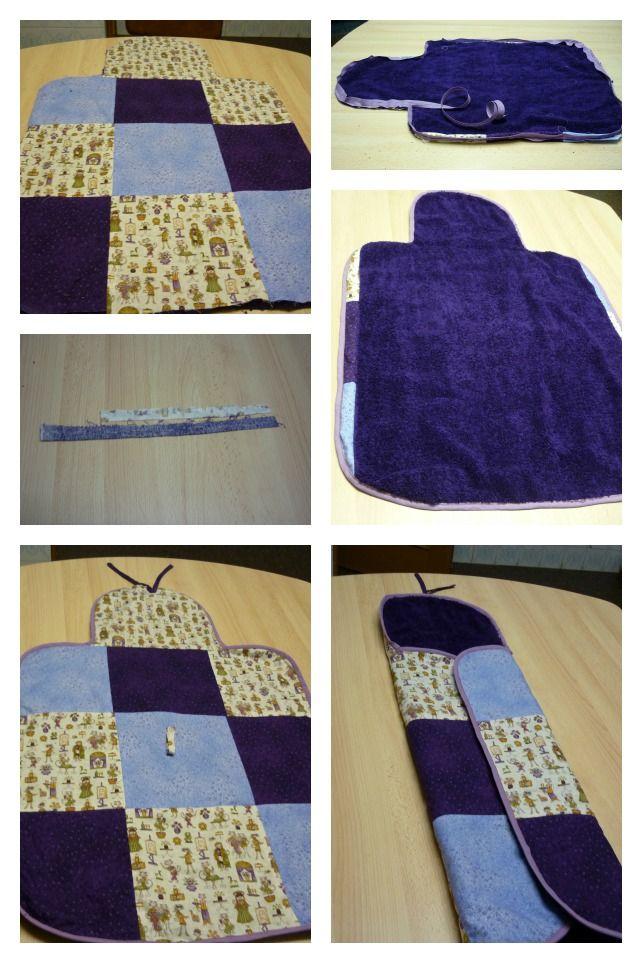 Cambiador patchwork para beb diy pinterest - Cambiador bebe patchwork ...