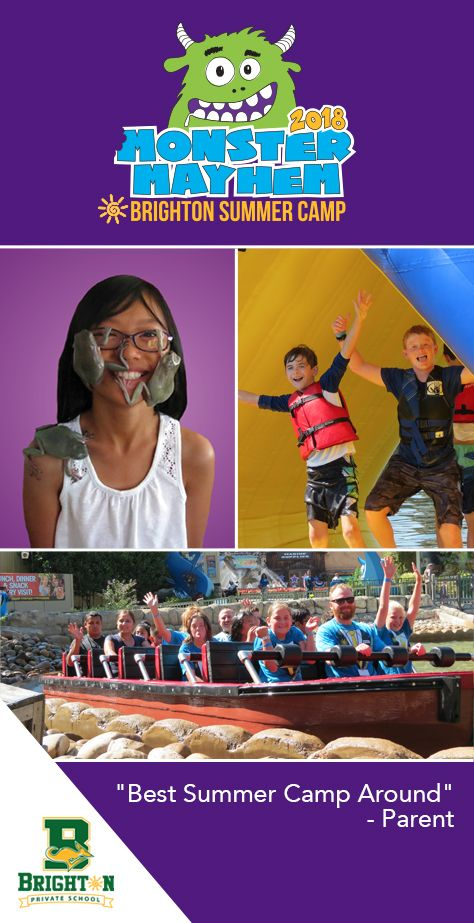 Brighton Elementary Private School has the Best Summer Camp Around. 9-weeks of activities, field trips, swim days, entertainment and fun! Field trips include golf, bounce houses, zoos, aquatic center, parks six flags and more. Located in Folsom, CA in the Sacramento area.